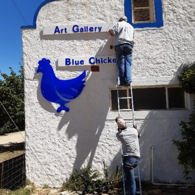 Blue Chicken Art Gallery